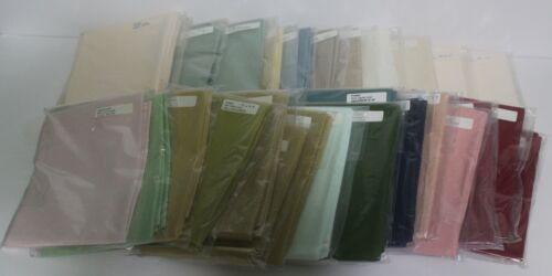 ZWEIGART 18X27 Cross Stitch Fabric 28 Count Choice of 24 Colors Sealed NIP