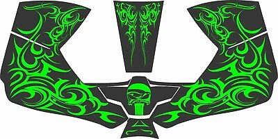 0700000800 Esab Sentinel A50 Welding Helmet Wrap Decal Sticker Skull Punisher