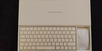 Apple Magic Keyboard and Magic Mouse v2 Complete Set BNIB from iMac