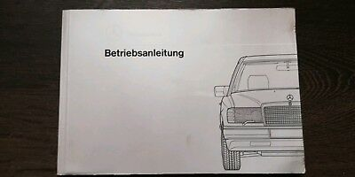 Mercedes W 124 Bedienungsanleitung, & Bordmappe 200D alle Diesel.. Bis 300D... gebraucht kaufen  Düsseldorf