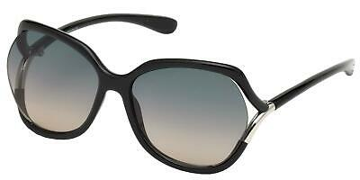 Tom Ford ANOUK-02 FT 0578 Shiny Black/Grey Shaded 60/16/125 women Sunglasses