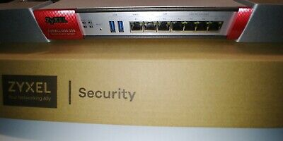Zyxel Zywall USG 200 Gigabit Router Firewall Unified Security Gateway