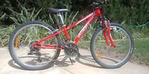 Specialized-Hotrock Kids Bike-24 inch wheel~cycle~red~boys~girls~
