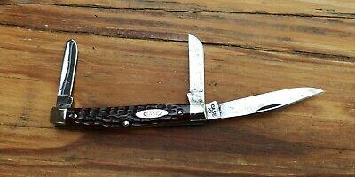 Case 1940 - 65 XX 6344 Bone Handle Knife - UNUSED / UNSHARPENED - NICE Knife!!