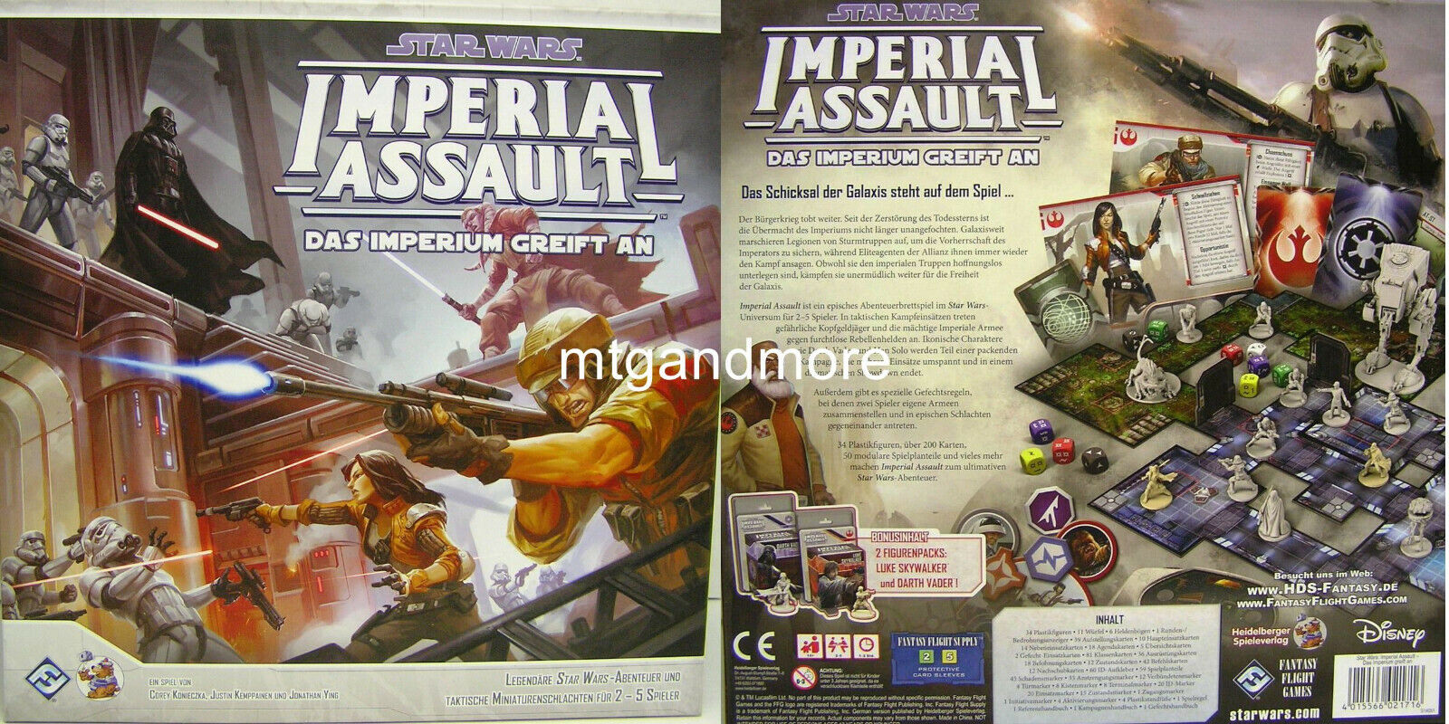 Star Wars Imperial Assault - Miniatur aussuchen - DEUTSCHE / GERMAN VERSION