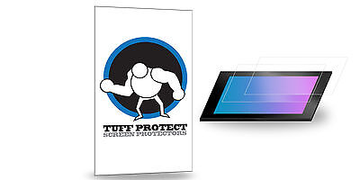 Tuff Protect Clear Screen Protectors for Humminbird 997 csi