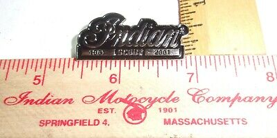 vintage Indian Scout pin old biker vest collectible USA motorcycle memorabilia