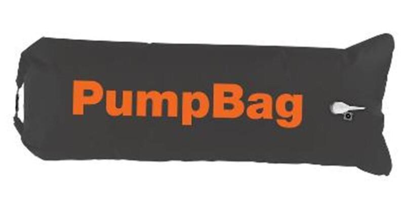 Pump Bag 100l 140x50cm Pumpe Pumpkissen Luftkissen