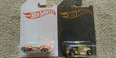 Hot Wheels 51st and 52nd Anniversary Chase Cars Gotta Go + Gazella GT Set 2 Cars