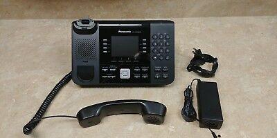Panasonic Kx-utg200b Sip Utg Series Voip Poe Phone 3.5 Color Hd 4-line
