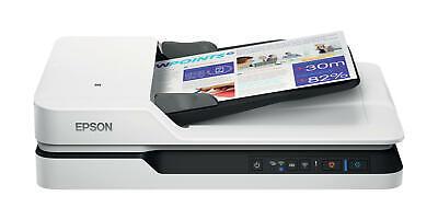 Epson WorkForce DS-1660W DIN A4 Dokumentenscanner (600dpi, USB 3.0, Duplexscan, Drei-Pass, WLAN, NFC)