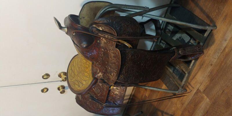 """14"""" L.V Frazier Western saddle"""
