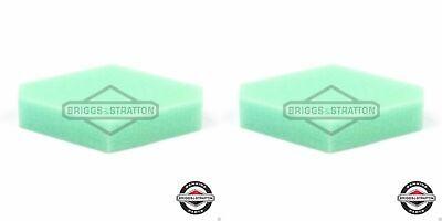 2 Pack Genuine Briggs & Stratton 797301 Foam Air Cleaner Filter OEM