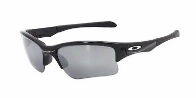 Oakley Quarter Jacket Sunglasses (Youth Fit) Black Polished Black Lens (Sunglasses Male)