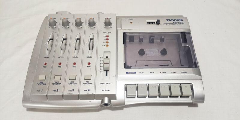 tascam portastudio mf-p01cassette recorder