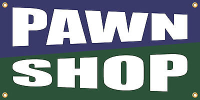Pawn Shop 2x4 Vinyl Retail Banner Sign