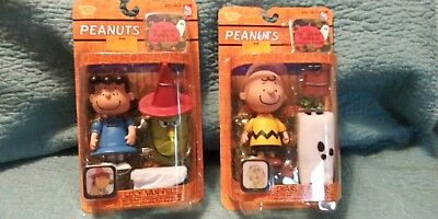 Charlie Brown and Lucy Halloween The Great Pumpkin Charlie Brown Action Figures (Charlie Brown And Lucy Halloween)