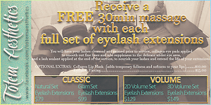 EYELASH EXTENSIONS PLUS FREE 30MIN MASSAGE Narre Warren South Casey Area Preview