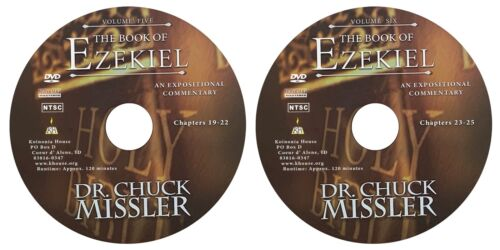 The Book of Ezekiel an Expositional Commentary on DVD by Chuck Missler
