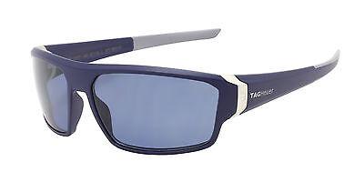 Tag Heuer Racer 2 Blue Light Grey Sunglasses Watersport Polarized Lens 9222 406