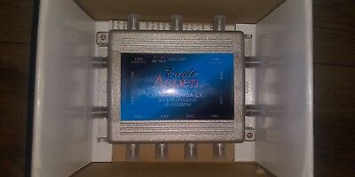 EAGLE ASPEN S-2180A-LX 3X8 MULTISWITCH WITH POWER SUPPLY NEW Eagle Aspen Power Supply