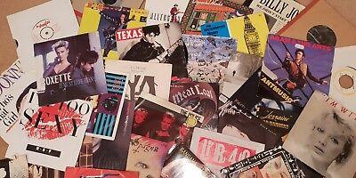 "Choose from 700+ Rock/Pop Singles! 7"" vinyl records 60s/70s/80s/90s Buy 6+1 FREE"