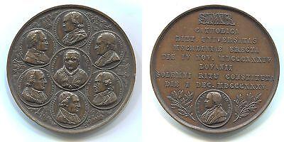 "Bronze Medaille 1835 von A.Jouvenel ""Belgien-Mechelen-Leuven"""