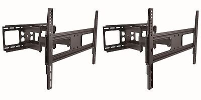 Lot2 CURVED/FLAT Screen/Panel LCD/HDTV/TV/Monitor Wall Mount/Mounting Bracket $S for sale  Shipping to South Africa