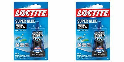 Loctite 1363589 Bottle Super Glue Ultra Gel Control Adhesive .14oz 2 Pack
