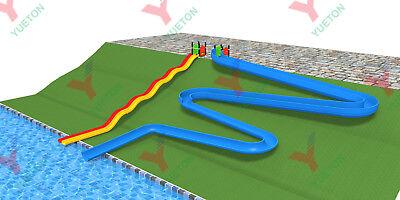Commercial Fiberglass Water Slide Theme Water Park Rides Splash Pad We Finance