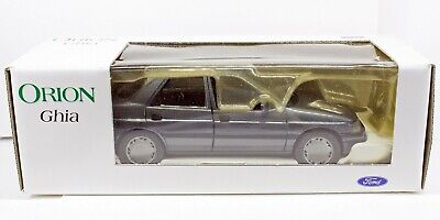Ford Orion Ghia Mk III; Diecast 1/24 dealer model; boxed; Excellent condition