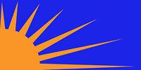 Sunburst Bandera 3ft X 0.6m (90cm X 60cm) Bandera -  - ebay.es