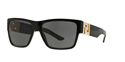 Versace Man Sunglasses, Black Polarized Lenses 0VE4296 GB1/81 59mm