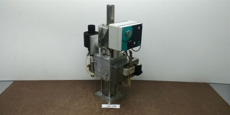 Piovan GR1 10kg Spec A038 Mini Hopper Vacuum Loader Glass Receiver 230v #294