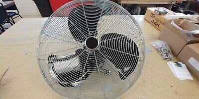 New 24 Blade 13 Hp 5200 7000 Cfm Industrial Circulation Fan Air Circulatio