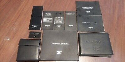 2006 Bentley Continental Flying Spur Owners Manual SET (used)