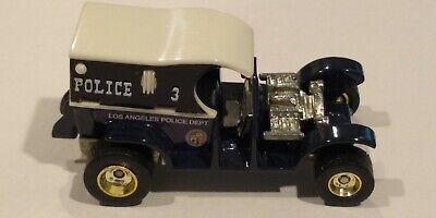 Hot Wheels Vintage Paddy Wagon white top blue and black china