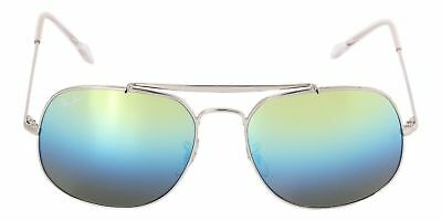 NEW Ray Ban The General RB3561 003/I2 57mm Silver Frame Blue Gradient (Ray Ban Apparel)