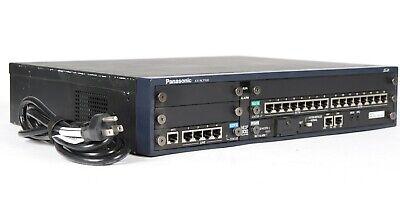 Panasonic Kx-ncp500 Pure Ip-pbx Phone System With Ipcmpr Dlc16 Lcot4 Sd Card