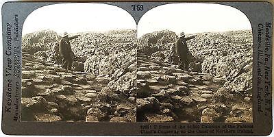 Keystone Stereoview Giant S Causeway  North Ireland Coast From 1930 S T400 Set