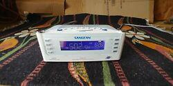 Sangean RCR-22 Atomic Clock with FM-RDS / AM / Aux-in Digital Tuning Clock Radio