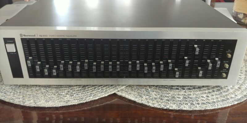 Sherwood EQ-200 Stereo Graphic Equalizer