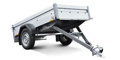 STEMA Anhänger FT 7.5 750 Kg 201x108x33cm 13Zoll 100KM/H Freigabe Neu