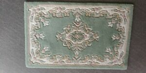 A hand made pure wool pile from india