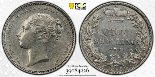 1885 Great Britain Shilling KM# 734.4 Victoria PCGS AU Details