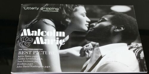 MALCOLM & MARIE Press Kit book FYC for your consideration