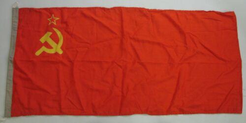 SOVIET NATIONAL FLAG Merchant Fleet Navy type in Wool Bunting BIG 2