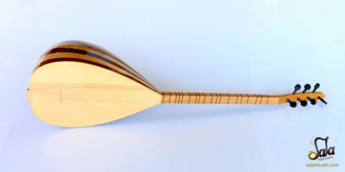 Turkish Short Neck Mahogany Maple Baglama Saz For Sale CSS-113