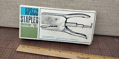 New Old Stock - Vintage - Apsco A1 Deluxe Office Stapler - Made In Sweden