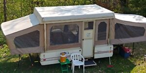 1986 Sequoia Coleman pop up trailer